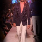 designer-wedding-dress-for-men-latest-winter-2015-2016-couture-groom-outfit-manish-malhotra-navy-embroidery-jacket-white-pants