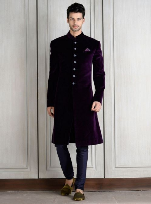 Designer Wedding Sherwani for Men: Indian Groom Outfits