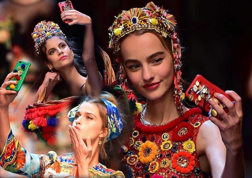 dolce-and-gabbana-spring-summer-2016-iphone-cover-model-selfie