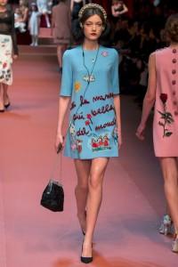 fall-2015-winter-2016-fashion-color-trends-runway-dolce-gabbana-sky-blue-dress