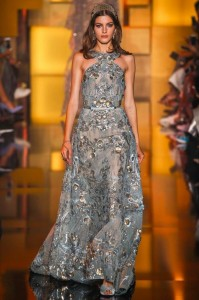 fall-2015-winter-2016-fashion-color-trends-runway-elie-saab-grey-gown-dress-party-beautiful-elegant