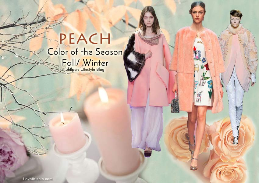 fall-2015-winter-2016-fashion-color-trends-runway-peach-rose-dress