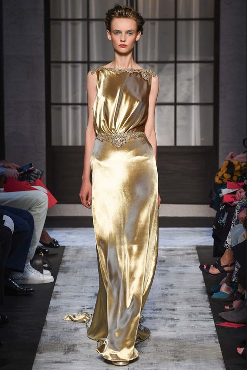fall-2015-winter-2016-fashion-color-trends-runway-schiaparelli-gold-dress-gown