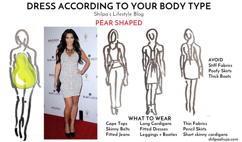 How to Dress for Pear Shaped Body Type