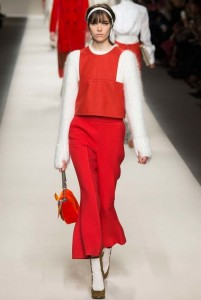 fall-2015-winter-2016-fashion-color-trends-fendi-rtw-red-skirt