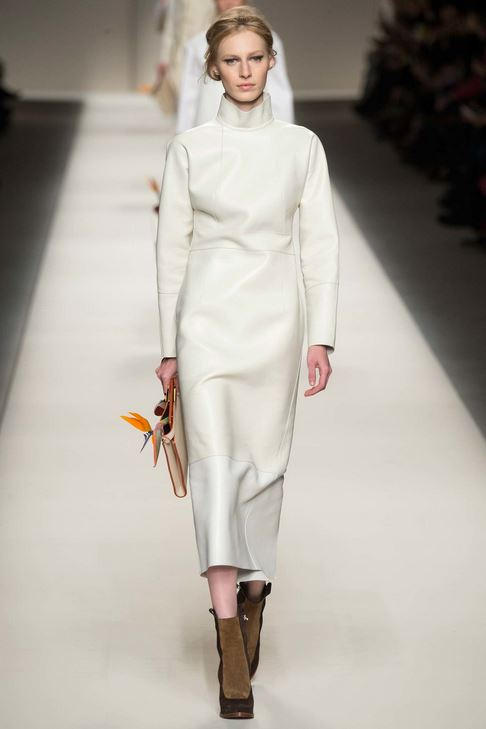 kendall-jenner-fall-2015-winter-2016-fashion-color-trends-fendi-rtw-white-dress