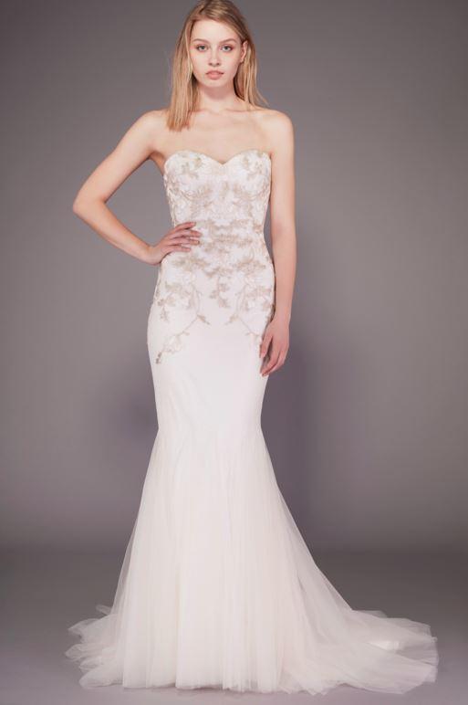 latest-bridal-dress-trends-gowns-white-fall-2015-winter-2016-designer-mermaid-skirt-badgley-mischka