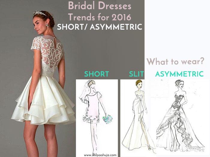 latest-bridal-dress-trends-gowns-white-fall-2015-winter-2016-designer-short-asymmetric