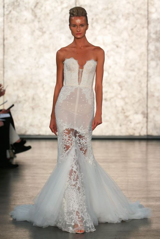 latest trends mermaid wedding gowns