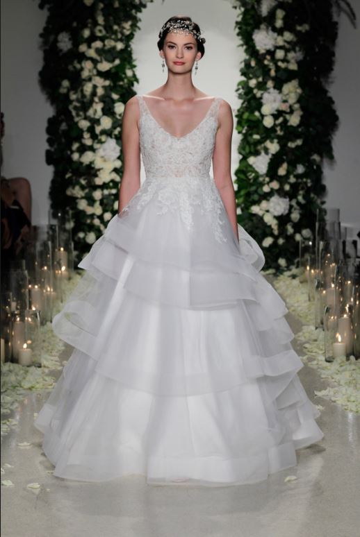 latest-bridal-dress-trends-gowns-white-fall-2015-winter-2016-layered-ruffle-anne-barge