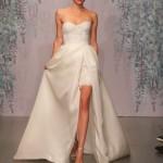 latest-bridal-dress-trends-gowns-white-fall-2015-winter-2016-short-asymmetric-monique-lhuillier-slit-couture-lace