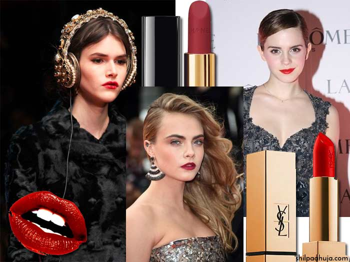 must-have-fashion-items-makeup-lipstick-fall-2015-winter-2016-essential-color-berry-red