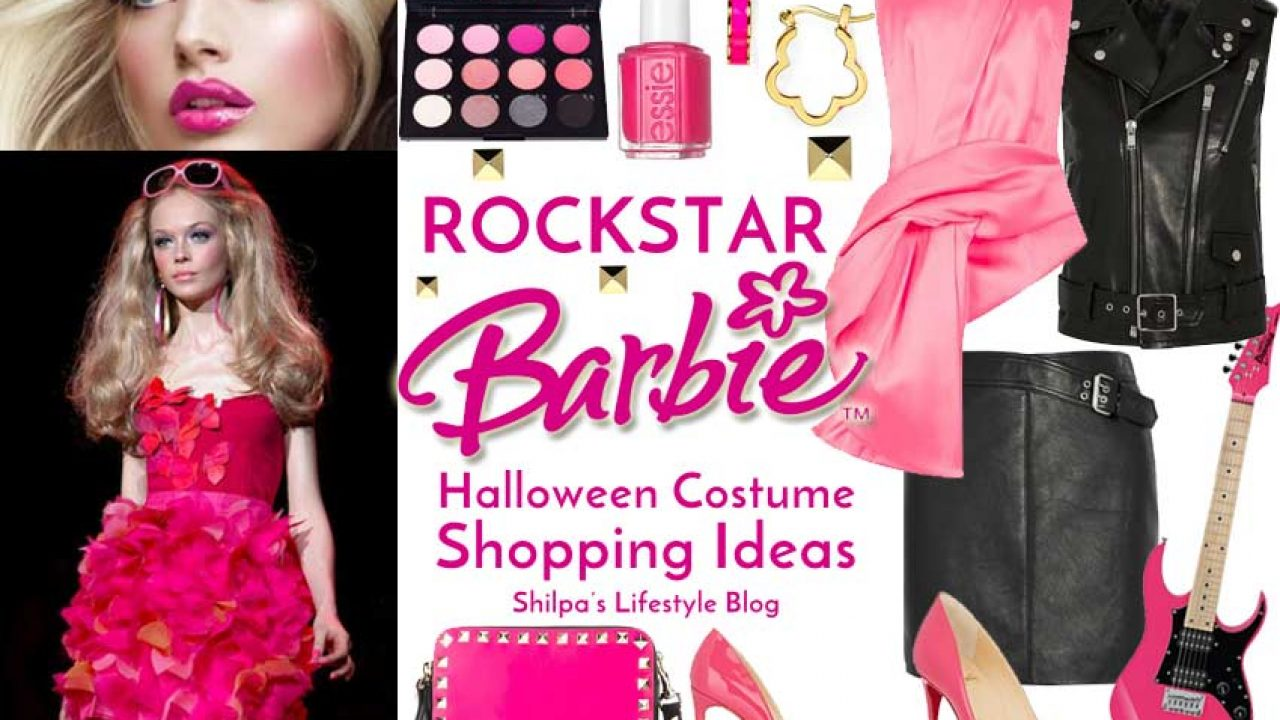 Halloween Rockstar.Creative Halloween Costume Rockstar Barbie Shopping Ideas