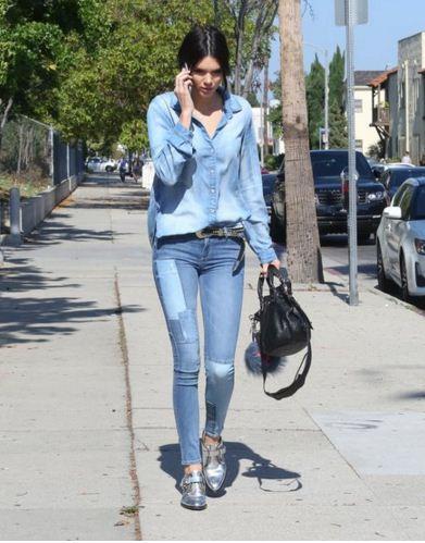 Kendall-Jenner-street-style-denim-look