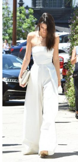 Kendall-Jenner-street-style-white-top-white-pants