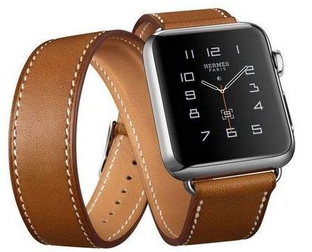 apple-watch-hermes-strap-brown-leather-black-case-for-men