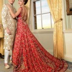 bridal-lehenga-indian-wedding-2015-2016-latest-trends-trail-red