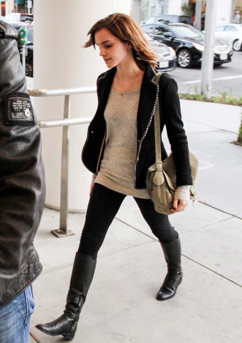 Emma Watson Street Style Best Travel Looks Casual Outfits