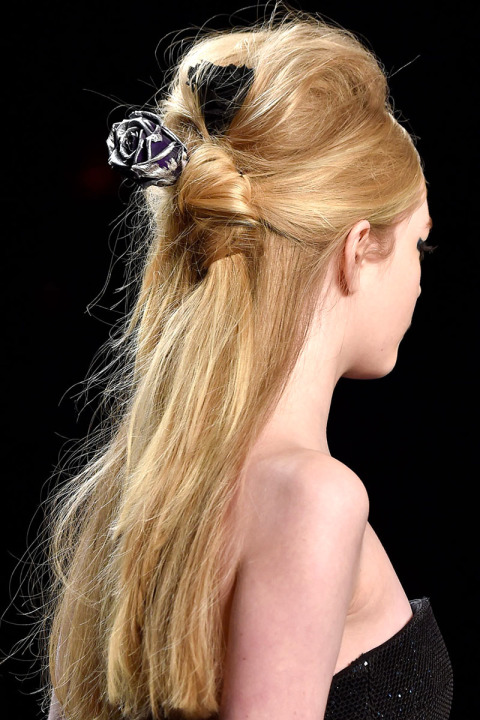 fall-2015-winter-2016-latest-top-hairstyle-trends-womens-badgley-mischka-poof-messy-hair-accessories