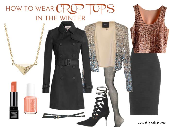 how-to-wear-crop-tops-in-winter-style-dress-what-to-wear-withhigh-rise-pencil-skirt-belt-cardigan