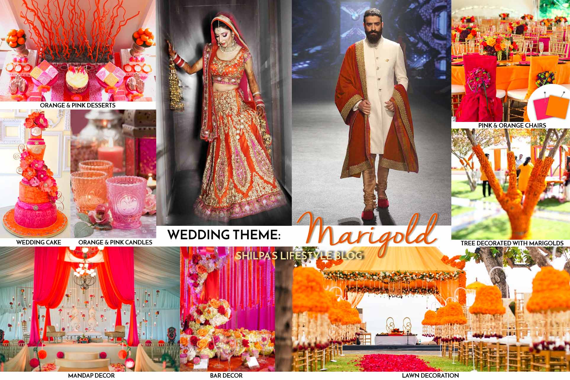 Indian wedding decorations theme ideas lehenga colors for Home decor ideas for indian wedding