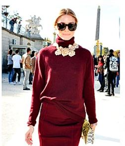 olivia-palermo-how-to-choose-necklace-for-turtle-necks-what-to-wear-with-turtleneck-dress