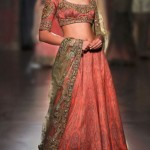 rimple-harpreet-narula-lehenga-indian-wedding-2015-2016-latest-peach-embroidery