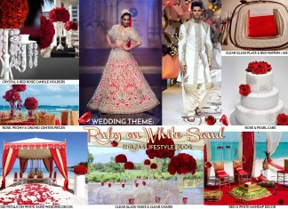 ruby-theme-wedding-ideas-red-white-color-indian-decoration-decor-lehenga-sherwani-rose