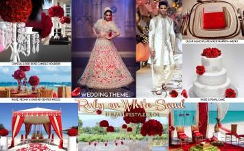 ruby-theme-wedding-ideas-red-white-color-indian-decoration-decor-lehenga-sherwani-rose