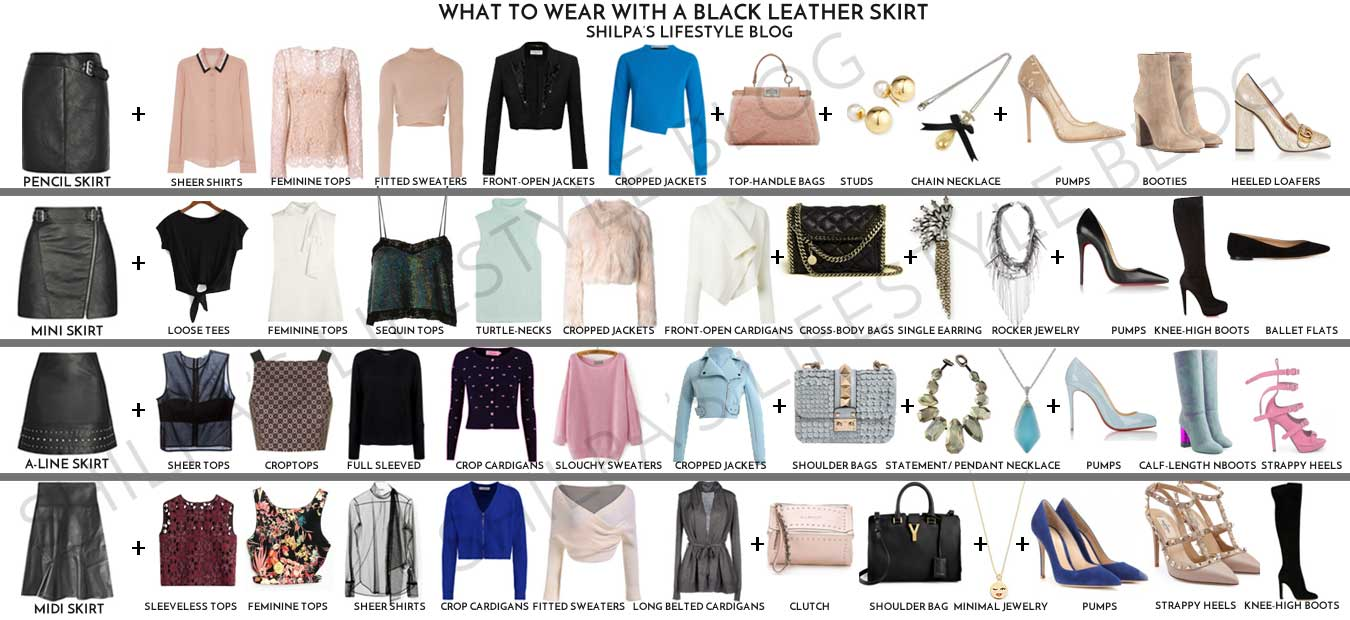 what-to-wear-with-leather-skirt-black-mini-style-fashion-mix-match-guide