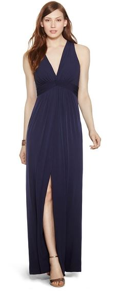 white-house-black-market-empire-waist-maxi-dress-slit-navy-blue-dark