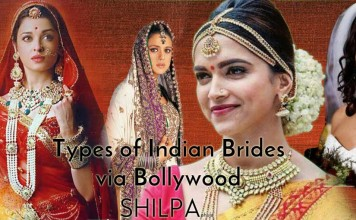 best-iconic-indian-bollywood-bridal-looks-dresses-types-of-indian-brides-lehengas