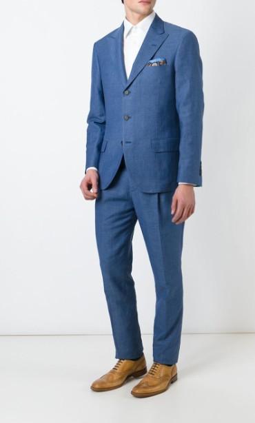 brunello-cucinelli-two-piece-suit-blue-suit-designer-mens-suit-style-2015
