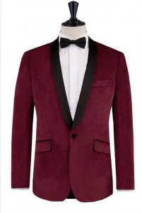 burgundy-tuxedo-mens-tux-style-2015-formal-wear-black-tie-velvet-look-shawl-collar