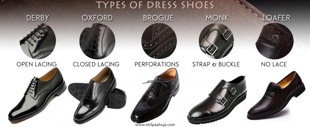 Men's Shoe Styles | Different Types of Shoes for Men