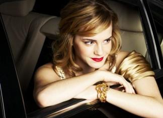 emma-watson-jewelry-bracelet-formal-red-carpet-gold