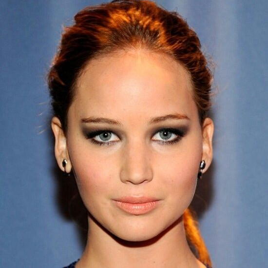 jennifer-lawrence-actress-beauty-makeup-styles-JLaw-pics-beautiful-jen-fashion-hooded-eyes-eye-makeup