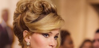 jennifer-lawrence-actress-hollywood-makeup-styles-images-american-hustle-hairstyle-hair-bun