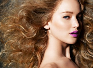 jennifer-lawrence-beauty-makeup-pictures-hairstyles-pics-fashion-magazine-cover-look-purple-lipstick-curls