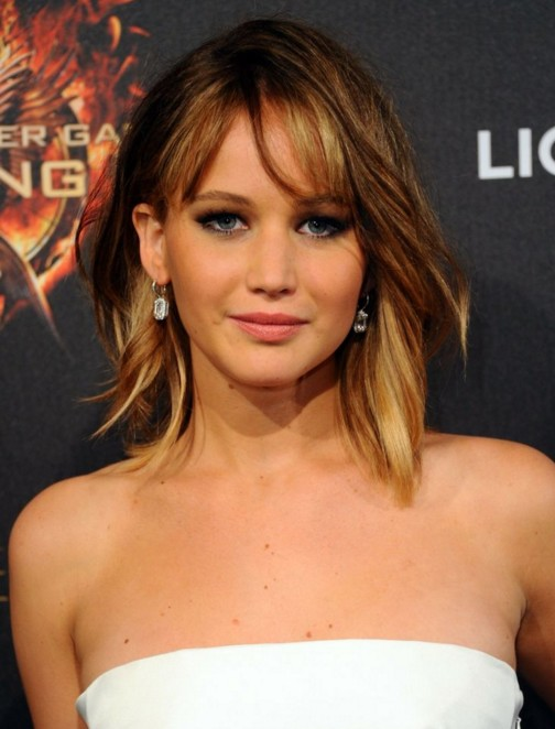 Jennifer Lawrence Haircuts And Hairstyles Bob Cut Pixies Buns