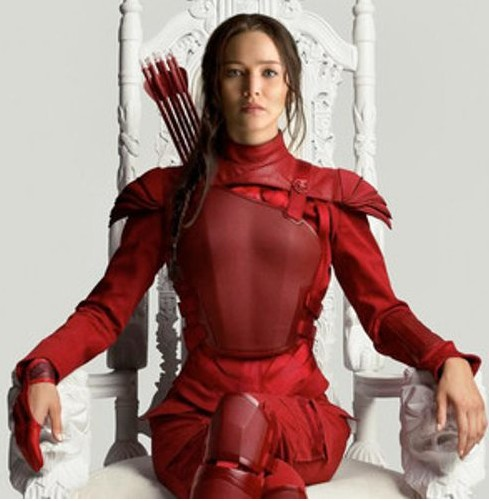 jennifer-lawrence-hunger-games-look-outfit-red-dress-fighter-costume-mockingjay-2