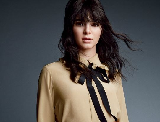 kendall-jenner-vogue-bangs-top-hair-color-trends-latest-dark-brown-black