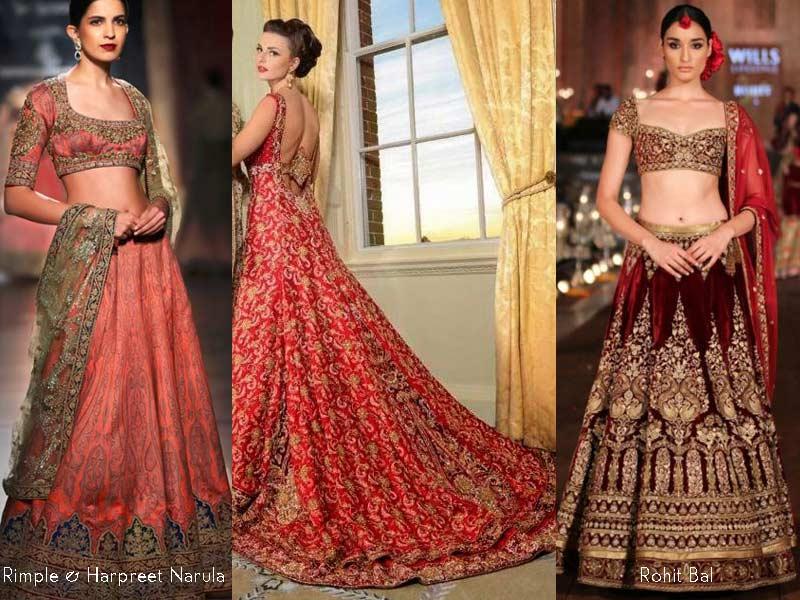 Indian wedding dresses designer wedding gowns latest fashion 2016