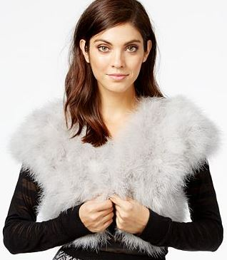 latest-winter-2016-jackets-party-fur-shrug-grey-crop-bolero
