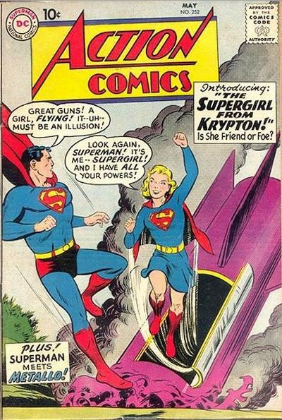 original-super-girl-supergirl-superman-dc-comics-from-krypton-first-appearance-top female superhero costumes