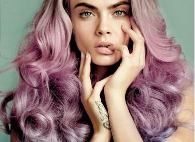 purple-mermaid-latest-hair-color-trends-winter-2016-spring-cara-delevingne