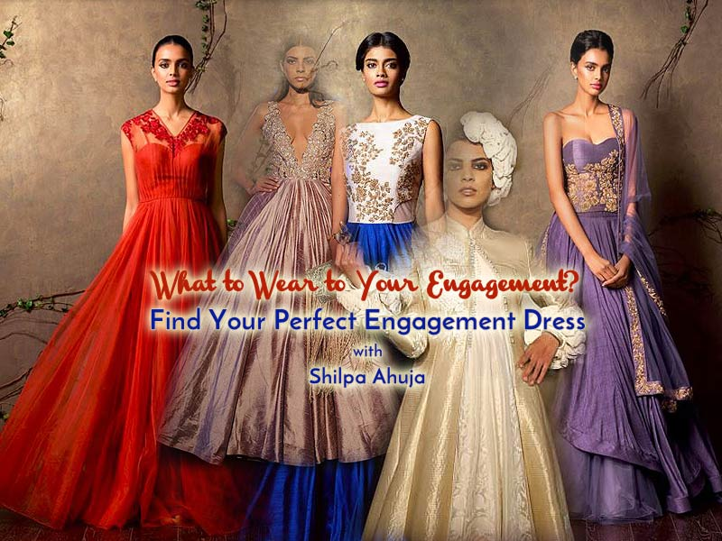 5fd46d3c2 15 Top Designer Indian Engagement Dresses