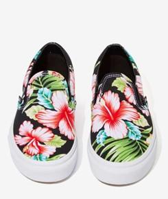 Vans Floral Design