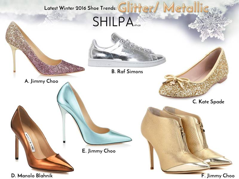 womens-shoes-latest-trends-winter-2016-glitter-metallic-glossy-gold-designer-styles-trendiest