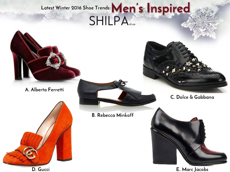 Winter 2016 Latest Shoe Trends: Women's Shoes, Boots Styles